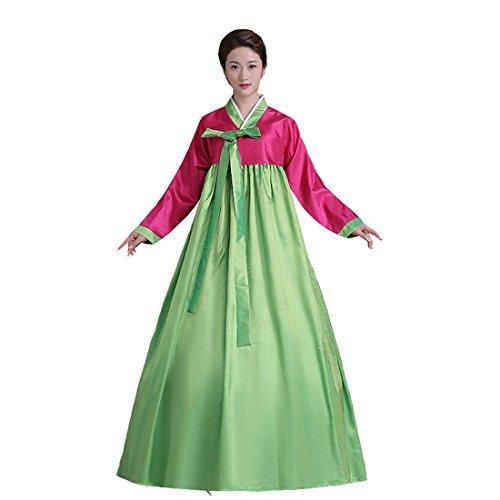 Ez-sofei Women's Korean Traditional Costume Hanbok L