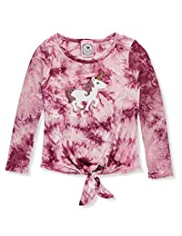 2 Love Tween Girls' Sequin Tie-Dyed L/S Top