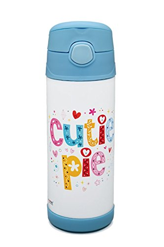 saanveria double layer insulated stainless steel kids sipper water