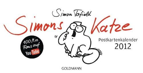 Simons Katze - Postkartenkalender 2012