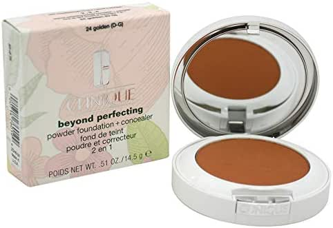 Face Makeup: Clinique Beyond Perfecting Powder Foundation + Concealer