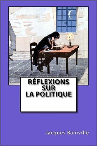 Livre Réflexions sur la politique pdf, epub