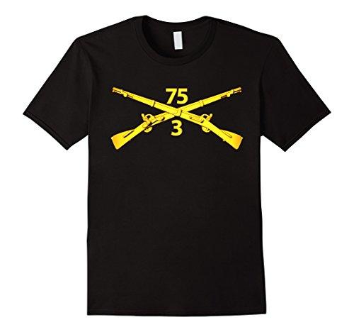 Mens 3rd Bn - 75th Infantry Regiment (Ranger) Tshirt Medi...