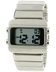EOS New York Women's 357SSIL Sprinx Digital Silver Watch