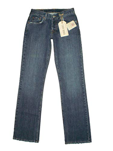 Lucky Brand Easy Rider Bootcut Womens Blue Denim Jean Size 0 X 34L New (Lucky Brand Easy Rider)