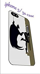 FUNKthing designs Batman Catwoman Funny iphone 5 case for girls cute and PC PC