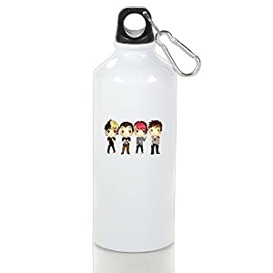 Marianas Trench Cool Aluminum Sports Water Bottle - 400/500/600ML 500ml