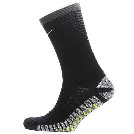 Nike Grip Strike LTWT Crew Calcetines, Unisex Adulto, Negro/Gris/Blanco (Black/Anthracite/White), 38.5-40.5: Amazon.es: Zapatos y complementos
