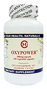 OxyPower by Chi's Enterprise 500mg, 120 Capsules