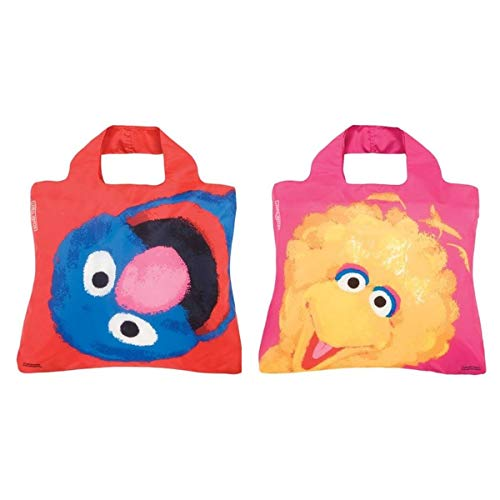 (Envirosax Sesame Street Shopper, Grover + Big)