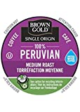 Mother Parkers Brown Gold 100-Percent Peruvian Real Cup Coffee Capsule, Compatible with Keurig K-Cup Brewers, 24-Count