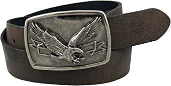 Levi's Men's 1 9/16 in. Bridle With Eagle Plaque Buckle