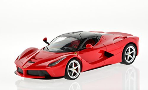 1:14 Scale Ferrari LaFerrari with 2.4 GHz Remote and Rechargeable Batteries - Red