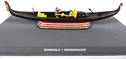 OPO 10 - Góndola de Venecia - Bondola 1/43 James Bond 007 Moonraker (DY102): Amazon.es: Juguetes y juegos