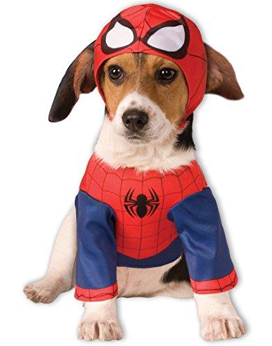 Rubie's Marvel Universe Spider-Man Pet Costume, (Halloween Unique Costumes 2017)