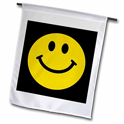 3dRose fl 76654 1 Traditional Smilie 1960S Style Smiling