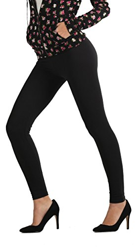 Premium+Quality+Ultra+Soft+Printed+Leggings+-+Regular+and+Plus+Size+-+40+New+Designs+by+Conceited+%28Large%2FX-Large%2C+Black%29