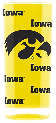Duck House NCAA Iowa Hawkeyes 16oz Insulated Acrylic Square Tumbler