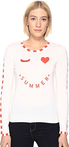 Paul Smith Women's Summer Sweater White Sweater by Paul Smith