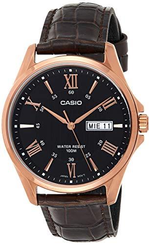Casio Enticer Men Analog Black Dial Men #39;s Watch   MTP 1384L 1AVDF A881