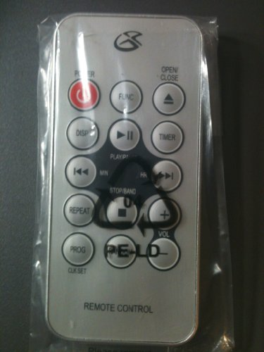 Gpx Under Cabinet Cd Player Radio Remote Control Kc318s