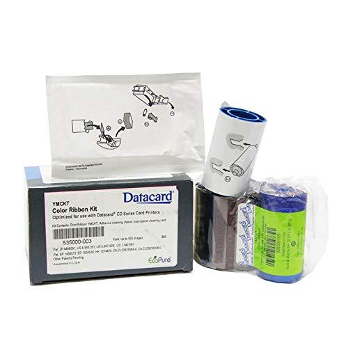 - Xligo YMCKT Ribbon Kit for Datacard cp60 535000-003,500 Prints Color Ribbon Kit Use for Card Printer