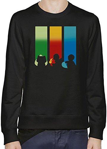 RGB-Bulbasaur-Charmander-Squirtle-Sudadera-Hombres-Mujeres