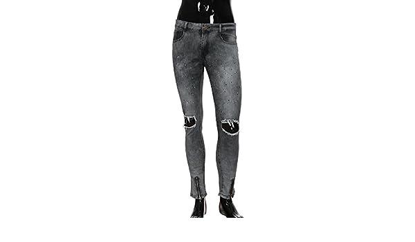 Vaqueros Mujer Cintura Alta Negro, Vaqueros Colores Mujer ...