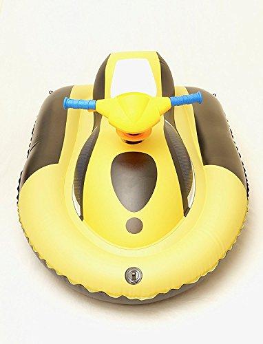 Kids Inflatable Motorboat Jet Ski Battery Powered Inflata...
