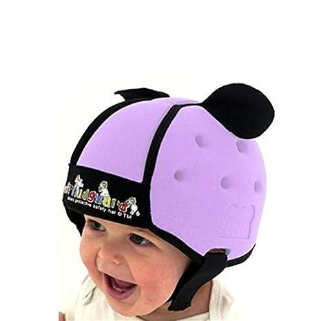 Thudguard - Gorro de protección para bebé, color lila: Amazon.es: Bebé
