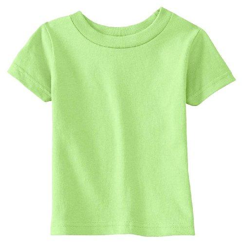 3401 T-shirt (Rabbit Skins 3401 Infant Jersey T-Shirt, Key Lime, 18M)