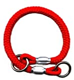 Mountain Rope Choke Collar 22 Inch – Red, My Pet Supplies