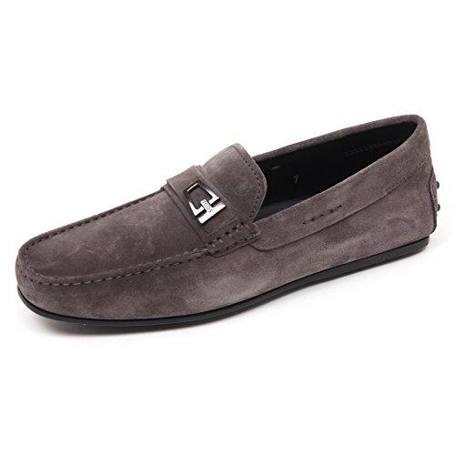 D0036 mocassino uomo TOD'S scarpa grigio scuro loafer shoe man Grigio scuro Estilo De La Manera Del Descuento YAJDHp