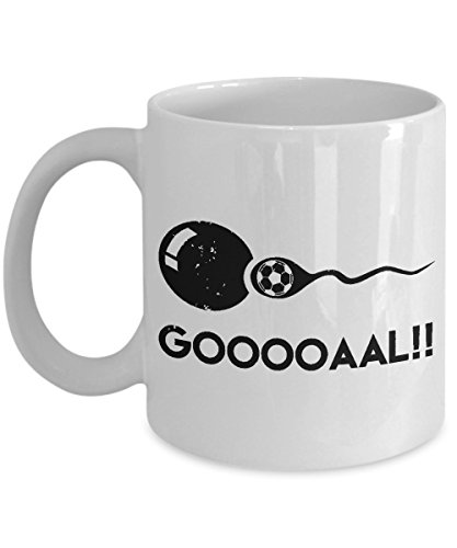 Gooooaal!! Funny Soccer Expectant Father Mug