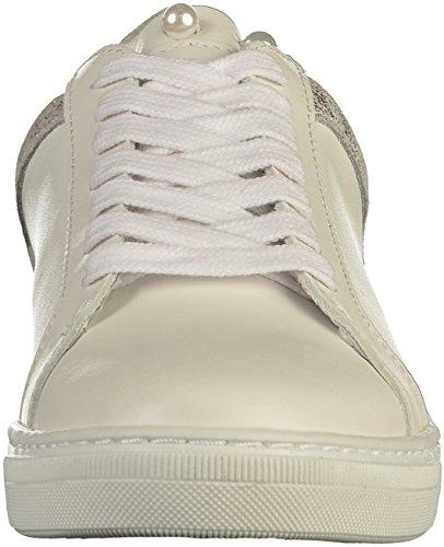 Blanc PMS Pour Weiß SPM Femme Baskets 7wzxw04q