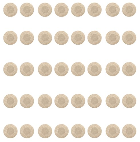 Womens 20 Pack Disposable Pasties Nipple Cover Round Shape