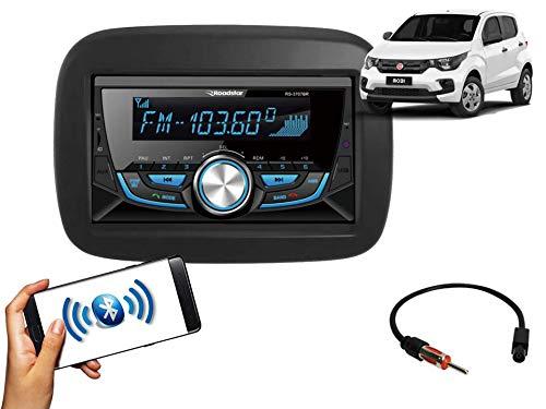 Auto Radio Fiat Mobi Bluetooth FM MP3 Black Piano