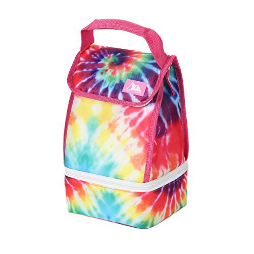 Arctic Zone Insulated Lunch Bag Plus, Tie Dye