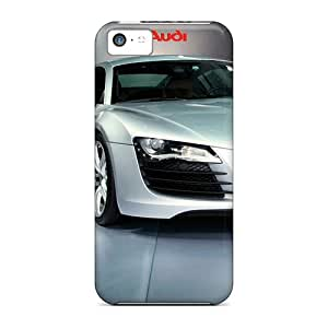 New Cute Funny Audi R8 5 Case Cover/ Iphone 5c Case Cover