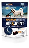 VetIQ Maximum Strength Hip And Joint Supplement Fo...