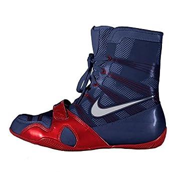 buy online 185e4 77ec2 Nike HyperKO MP Bottes de boxe mi-montantes Bleu