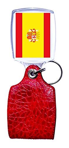 Llavero Rojo España Bandera: Amazon.es: Hogar