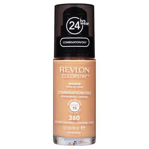 Revlon Colorstay SPF 15 Makeup Foundation for Combination/Oily Skin, Golden Caramel, 1 Ounce