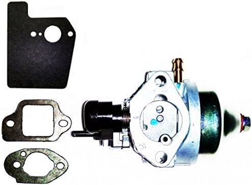 honda genuine oem harmony ii hrr216 (hrr2168pka) (hrr2168vka) walk-behind  lawn mower engines carburetor assembly & mounting gaskets kit (engine  serial