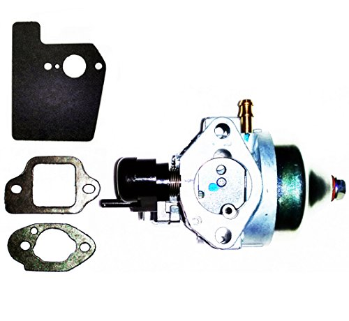 Jet Nozzle Assembly (GENUINE OEM Honda Harmony II HRR216 (HRR2168PKA) (HRR2168VKA) Walk-Behind Lawn Mower Engines CARBURETOR ASSEMBLY with GASKETS (Engine Serial Numbers GJAPA-1677022 and)