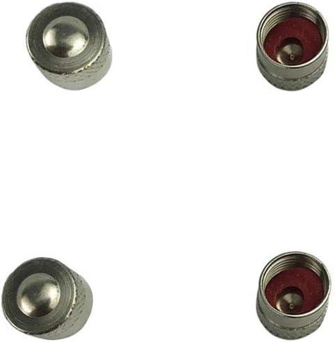 Yihaifu 4pcs Set del Coche Universal-Styling Cobre Caps Sustituci/ón de Ruedas del Coche del Casquillo de v/álvula de la Rueda de Guardapolvos