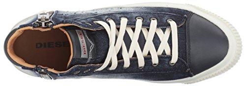 Diesel Y01539 P1362 Zip-Turf Sneakers Uomo Denim Venta En Línea Real BMXte