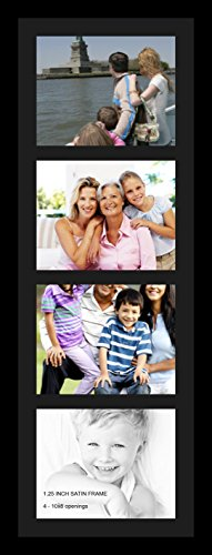 ArtToFrames Collage Photo Frame Single Mat with 4 - 8x10 Ope