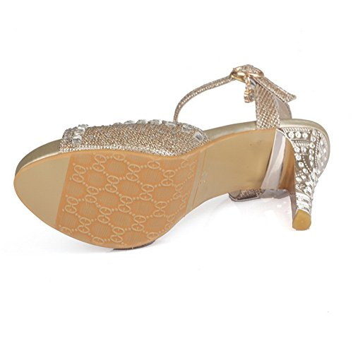1TO9 Girls Vogue Buckle Gold Soft Material Sandals - 8 B(M) US h5Uv1bnwn