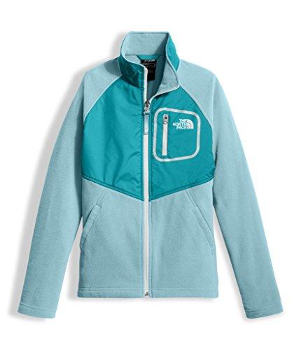 The North Face Girl's Glacier Track Jacket - Nimbus Blue - L (Past Season)